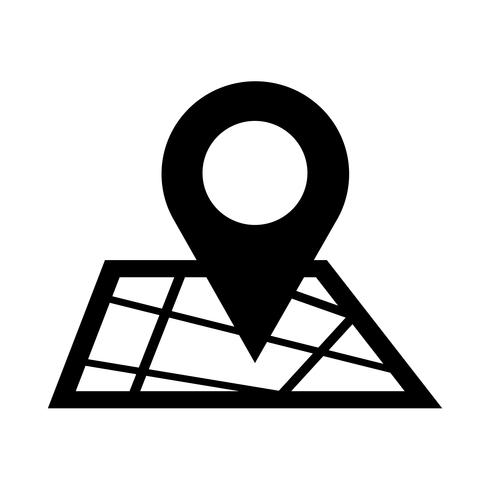 map pointer gps icon