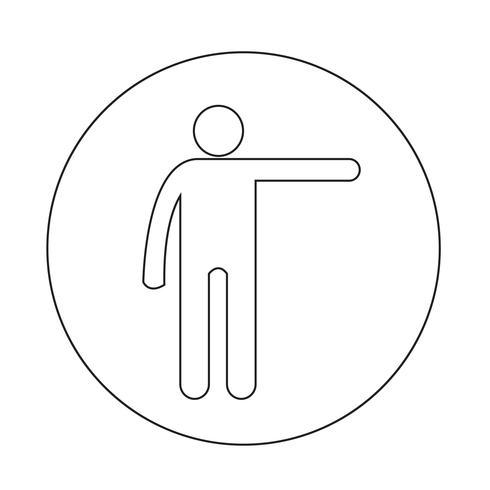 Ícone de ação humana