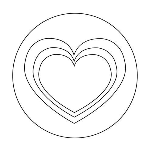Zeichen des Herzens-Symbol