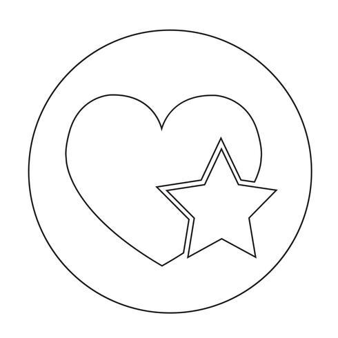 Icona del segno di cuore