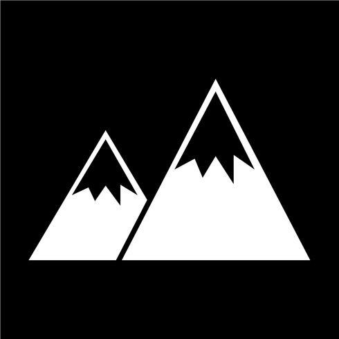 Zeichen der Berg-Symbol