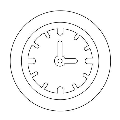 Icono de signo de tiempo