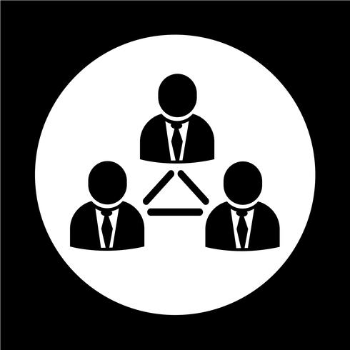 folk nätverk ikon