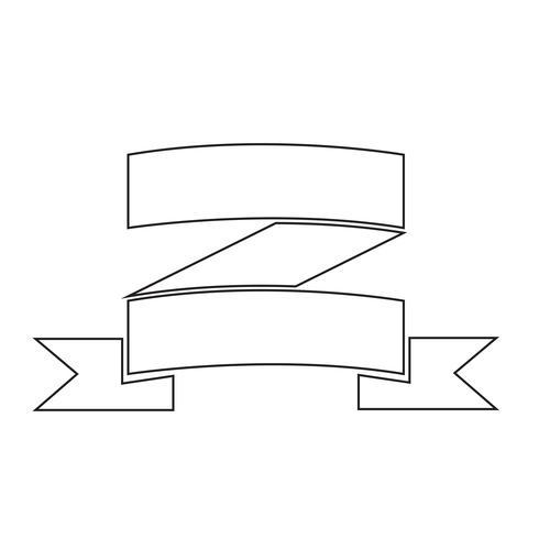 Teken van lint pictogram