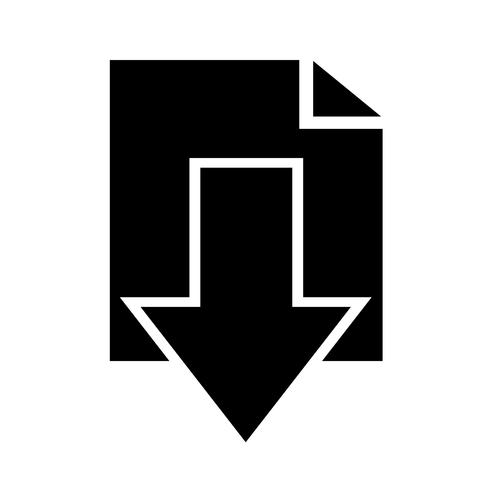 Zeichen des Download-Symbols