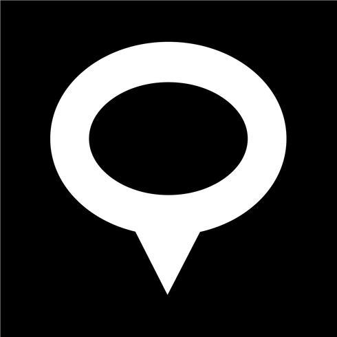 Kartpekare GPS-ikon