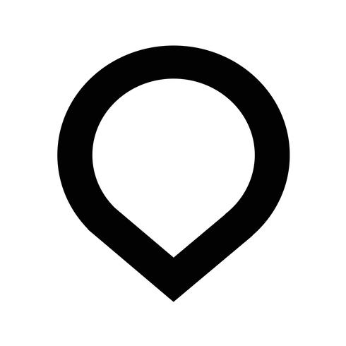 Kartenzeiger GPS-Symbol