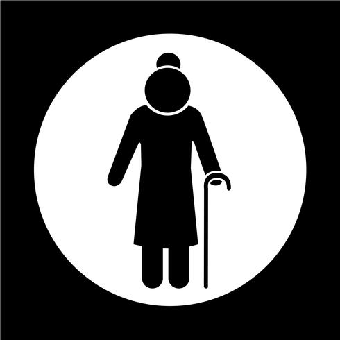 Elder People Icon