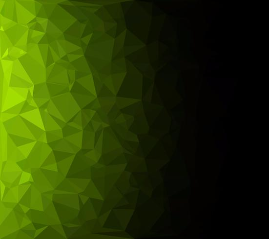 Green Polygonal Mosaic Background, Creative Design Templates vector