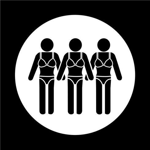 Terno de Natação Pessoas Icon