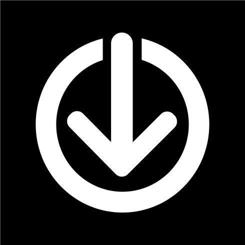 Segno dell'icona di download