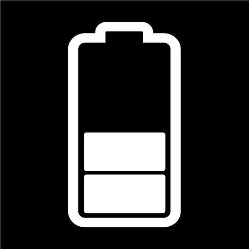 Segno dell'icona della batteria