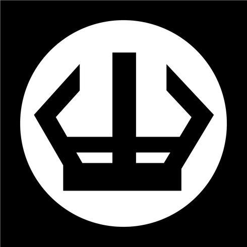 Zeichen der Krone-Symbol