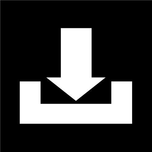 Logga på nedladdningsikon