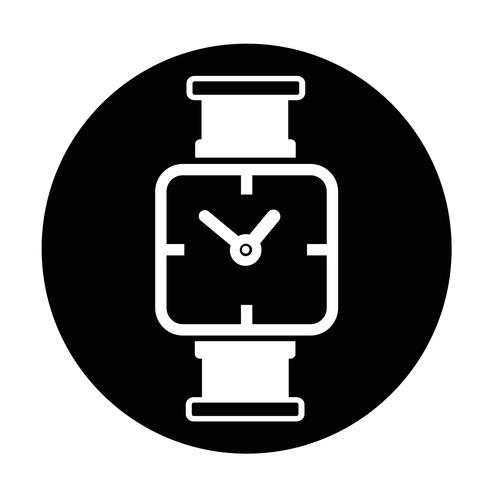 Icône du signe du temps vecteur