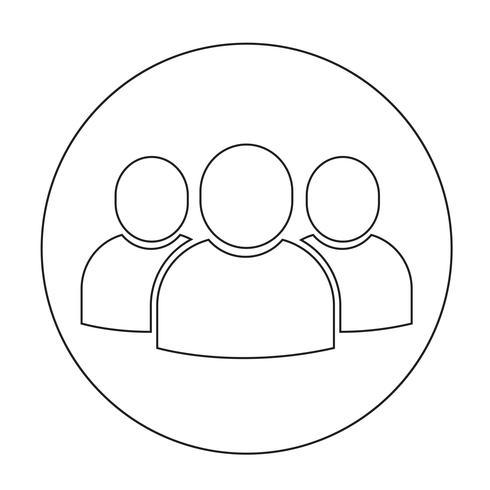 Teken van gebruikerspictogram
