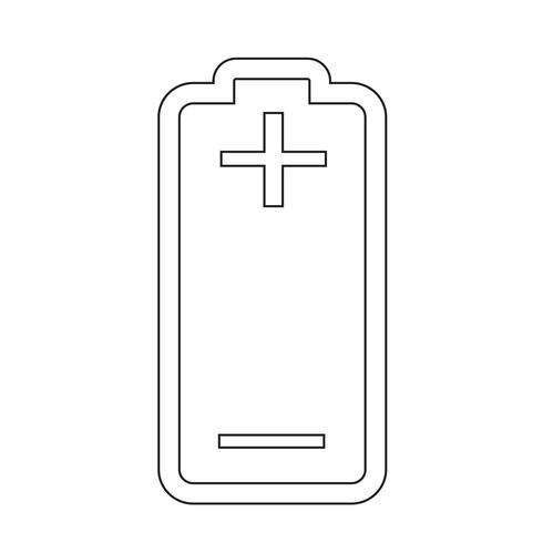 Zeichen der Batterie-Symbol