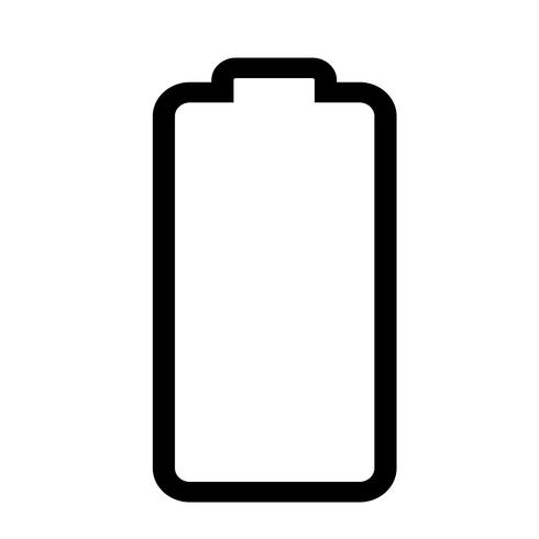 Sign of battery icon