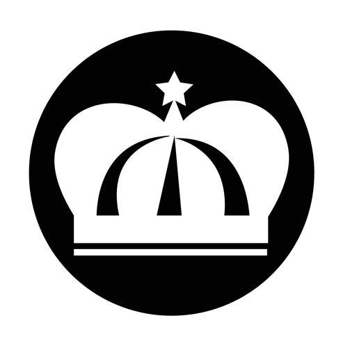 Icono de signo de corona