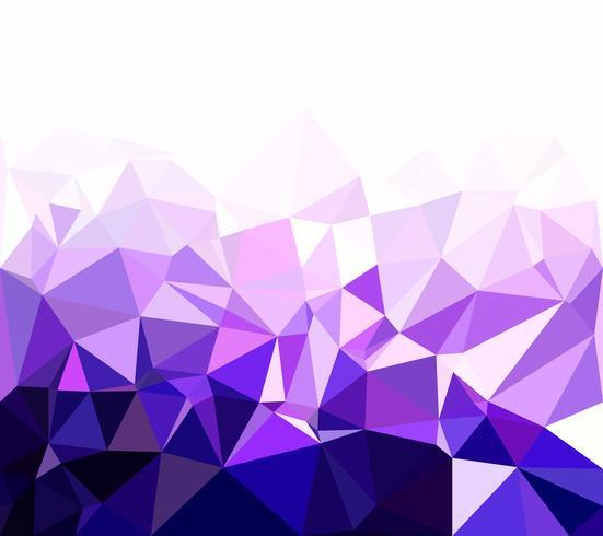 Fundo roxo mosaico poligonal, modelos de Design criativo