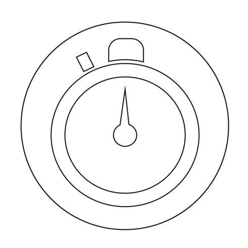 Icona del segno del tempo
