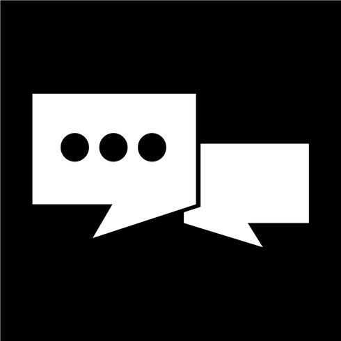 Sprechblasen-Symbol