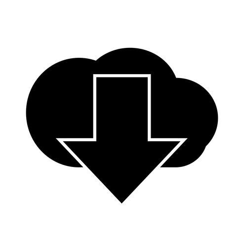 Icono de señal de descarga