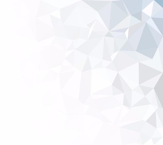 Grijs witte veelhoekige achtergrond, creatief ontwerpsjablonen