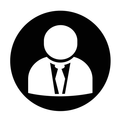 Segno dell'icona dell'utente