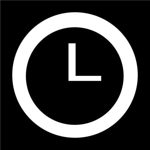 Ícone de sinal de tempo