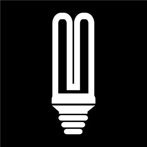 tecken på lampa ikonen