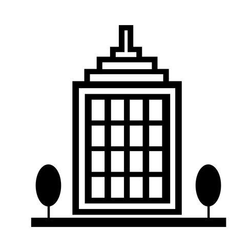 Teken van het bouwen van pictogram