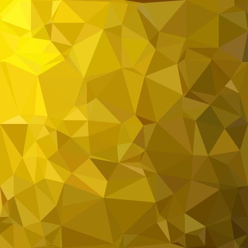 Fundo do mosaico poligonal amarelo, modelos de Design criativo