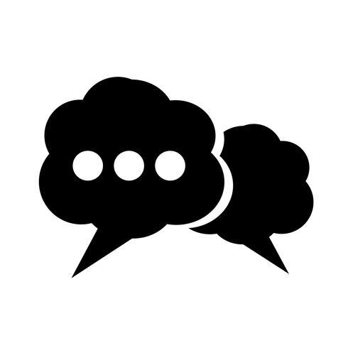 Icône de bulle de dialogue