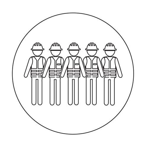 Icona della gente del lavoratore