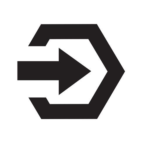 Ícone de sinal de login