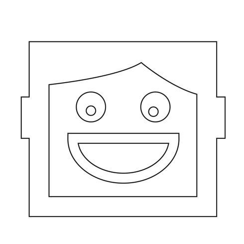 ikon för mänskliga känslor