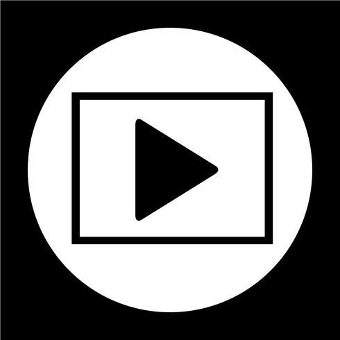 Icono de botón de reproducción