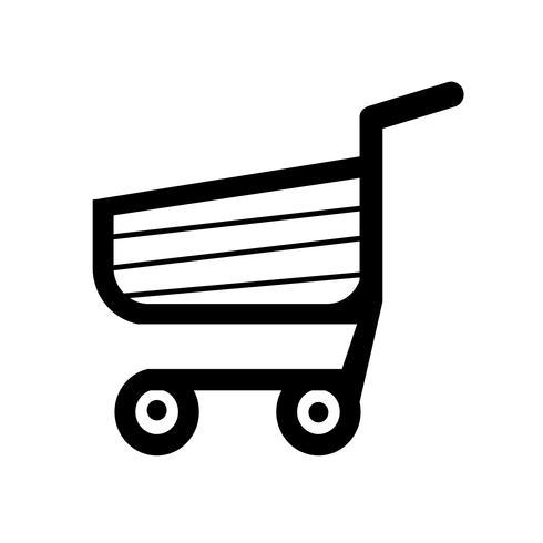 kundvagn vagn icon