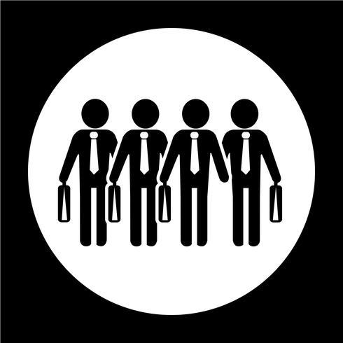 Affärsman Människor Ikon