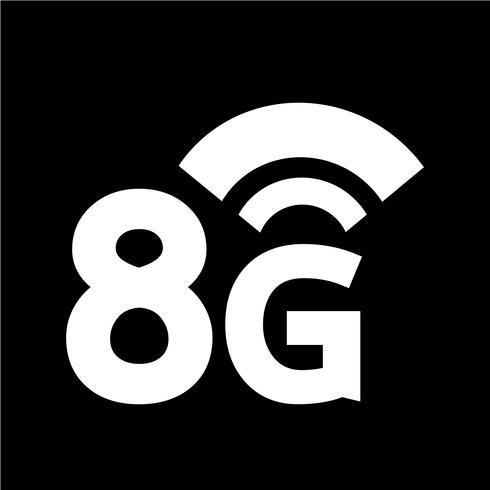 8G Wireless Wifi-Symbol