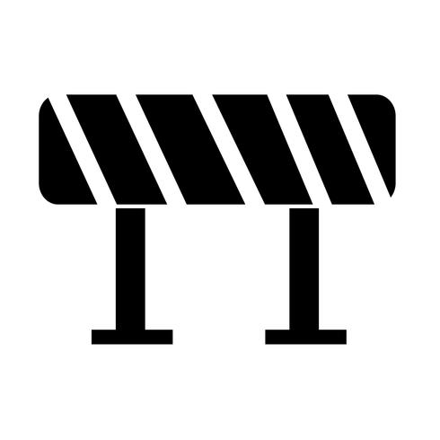 Ícone de barreira de estrada