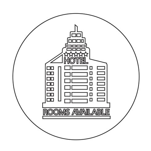 Room Available icon vector
