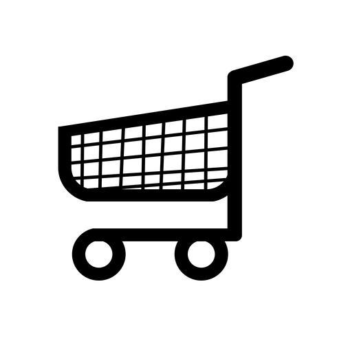 winkelwagen kar pictogram