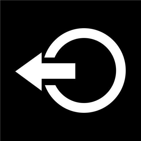 Icône de signe de déconnexion