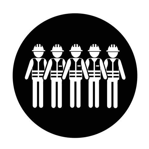 Ikon för arbetstagare