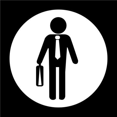 Zakenman mensen pictogram