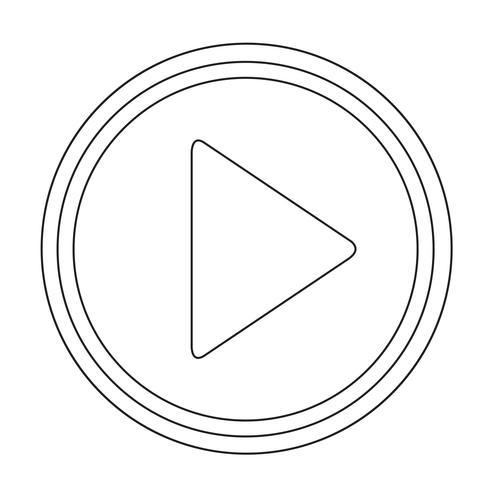Icona del pulsante Play