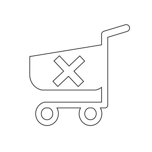 icona carrello carrello dello shopping