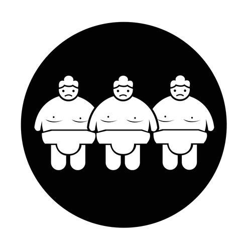 Sumo wrestling Pessoas Icon